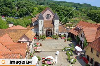 ハイジの村・展望塔からの風景