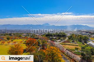 【山梨県甲斐市】秋の赤坂台総合公園・ドラゴンパーク